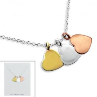 """Stříbrný náhrdelník """"Fayza"""". Ag 925/1000"""